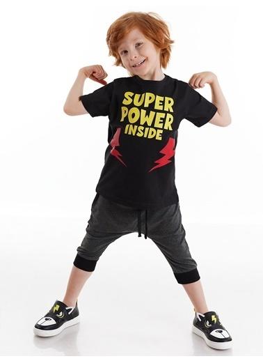 Denokids Super Power Erkek Baggy Takım Renkli